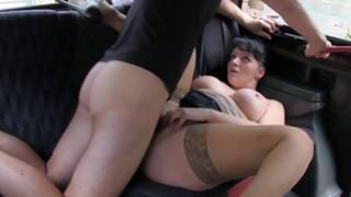 Perfect whore in hosiery is fucked cruelly deep