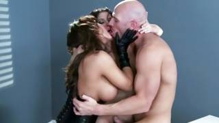 Madison Ivy and her friend ride a big cock