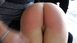 Brutal dude slapping nice bum and fucking great cunt