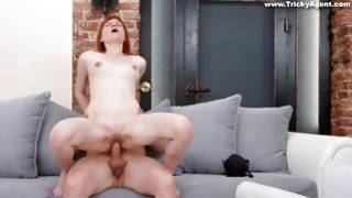 Ambrosial young bitchy Actress has irrational lascivious sexual intercourse