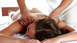 Fabulous female got her breasts rubbed wildly