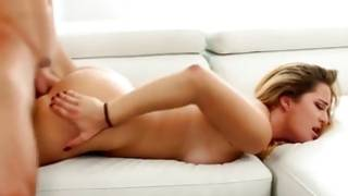 Different bright-haired slut is bending over while she is slammed
