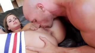 In this video bald guy fucks his diaper lover girlfriend in her vulva