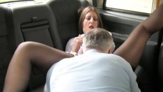 Strumpet depraved sucking on mighty dick