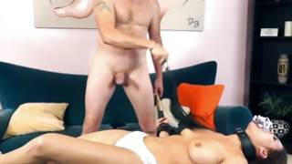 Beefy man has wrathful Sadomaso sex with Asian whore