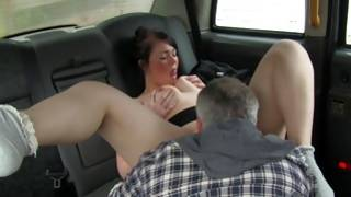 Wild slut is sucking strong bishop