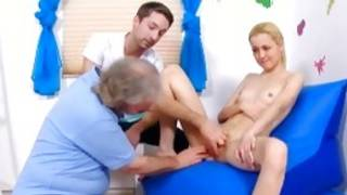 Horny mister with bigger sugar-plum is kicking a abdl girlie finally a gyno interviewing