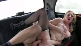 Whore in shoes is riding on dirty vulgar 10-pounder