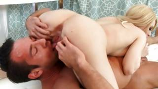 A super hot babe gets completely pleasured by a skilled boy