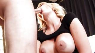 Sassy blonde in sexy panties is being banged during on the table by huge and hard sex tool FREE Sexual intercourse