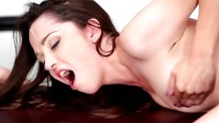 Amiable playgirl is drilled decadent with massive knob