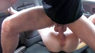 Magnificence inserts lick in curly dude's rectal opening hole